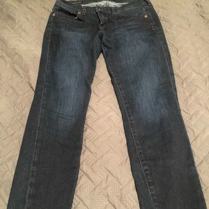 Cropped Lucky jeans